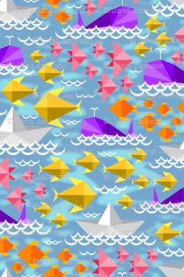 Origami Ocean