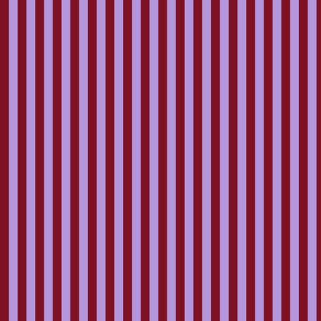 Red and Lavender Stripe, Equal fabric by ninniku on Spoonflower - custom fabric
