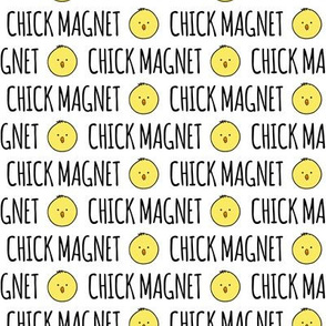 Chick Magnet -  easter fabric