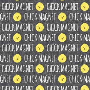 Chick Magnet - dark grey