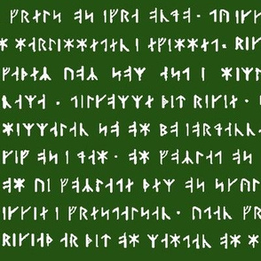 Old Norse - Emerald // Small