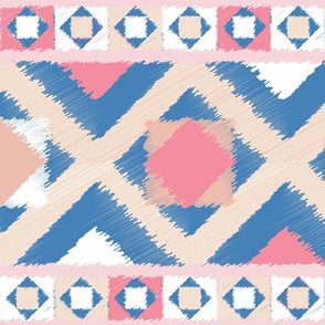 Kilim Pinks and Blues
