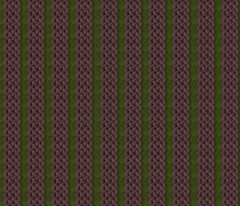 For Love of Aran DARK fabric by jewelraider on Spoonflower - custom fabric
