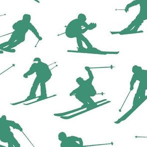 Aquamarine Skiiers // Large