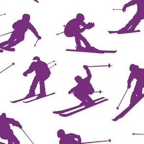 Purple Skiers // Large