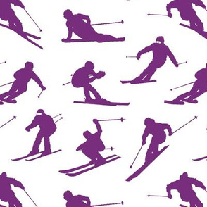 Purple Skiers // Small