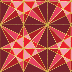 origami fold ruby with gold-01