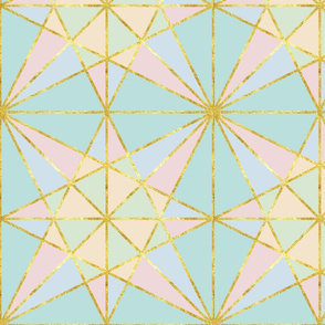 origami fold pastel with gold-01