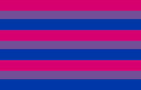 Bisexual Flag 6 Inch Design fabric by starsspikes on Spoonflower - custom fabric