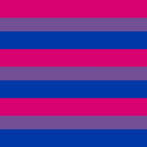 Bisexual Flag 6 Inch Design