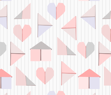 Love Letters fabric by mariamsol on Spoonflower - custom fabric