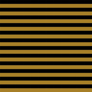 "3/4"" stripe - gold and black stripes stripe fabric"