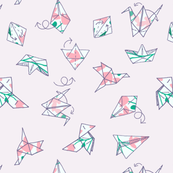 origami for spring