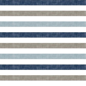 stripes - rustic woods linen stripes C18BS