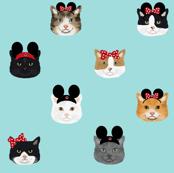 Theme Park Cats