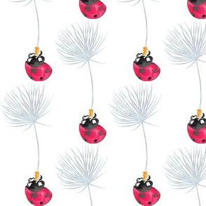 Floating Ladybug