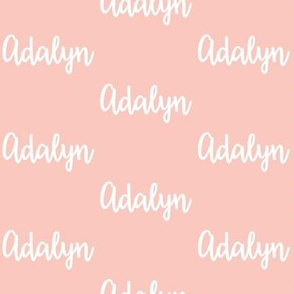 Adalyn - Pink Blush
