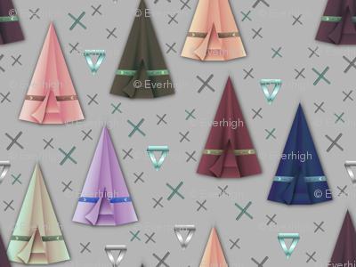 Origami tipi's