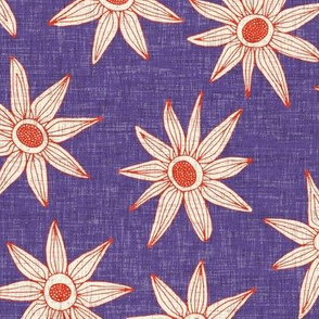 sema violet fire orange