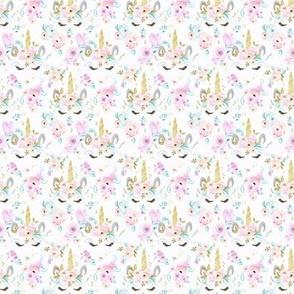 unicorn floral XXS