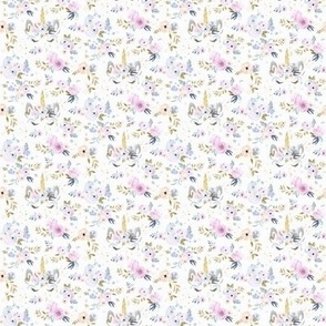 unicorn floral-twilight-xx-small