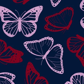 Midnight Butterflies