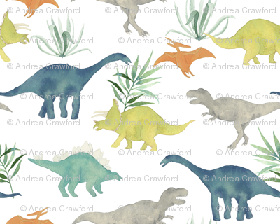 Custom Dinos with Leaves big