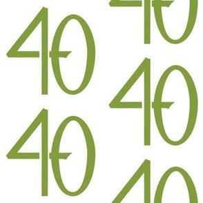 40 green