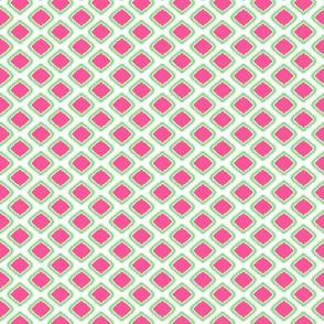 Tiny Ikat Square Pink