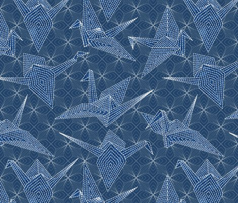 Rcrane_oragami_blue_sashiko_floral_entry-01_shop_preview