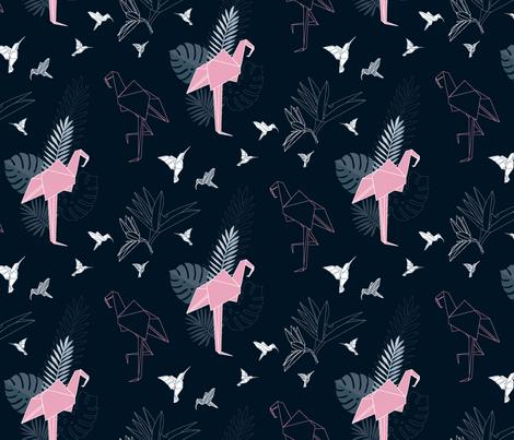 fold-your-own-paradise fabric by sylwia_siurek on Spoonflower - custom fabric