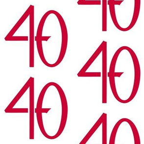 40 red
