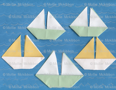 Origami Regatta