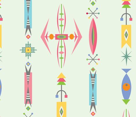 deco jewels fabric by andibird on Spoonflower - custom fabric