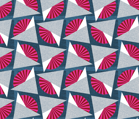 pleats and folds fabric by ottomanbrim on Spoonflower - custom fabric