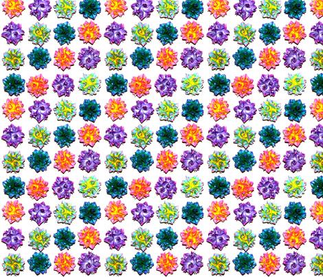 KusudamaOrigamiCurlyBalls03 fabric by emilymallory on Spoonflower - custom fabric