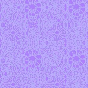 Violet Lace Batik