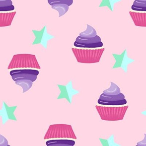 cupcakes and stars
