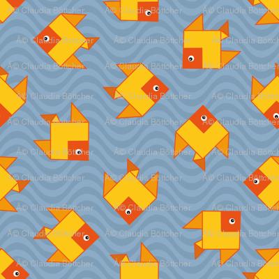 origami clone fish