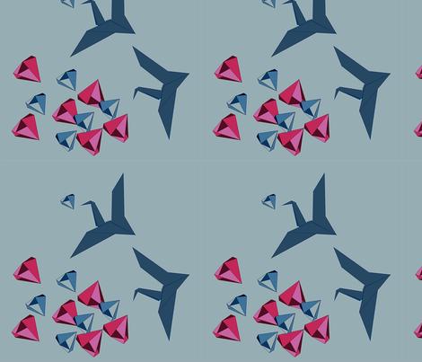 found-the-diamonds fabric by bugs4 on Spoonflower - custom fabric