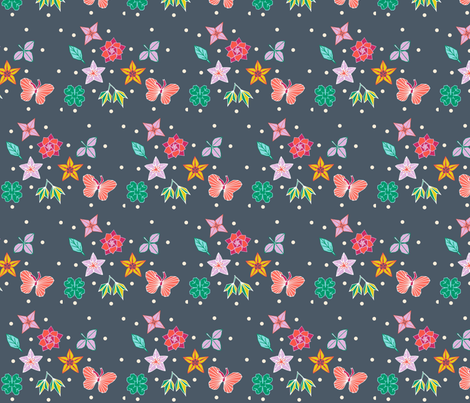 origami spray fabric by katebartholomew on Spoonflower - custom fabric