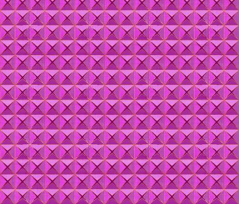 Purple Linen Origami fabric by thewellingtonboot on Spoonflower - custom fabric