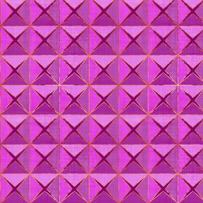 Magenta Linen Origami