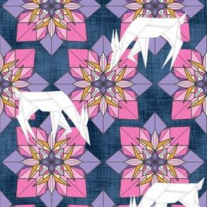 Origami Deer Floral