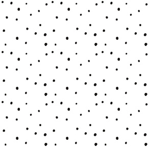 Black and white dots /