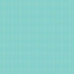 Stacked Squares in pale aqua