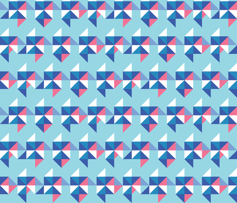 origami-3 fabric by aneika on Spoonflower - custom fabric