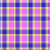 Pink Madras plaid
