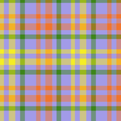Orange yellow green madras