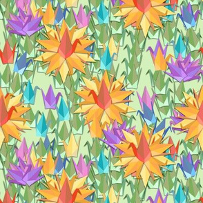 Paper Crane Garden